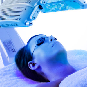 Photo Dynamic Therapy (PDT) is available at COSMETIC & RESTORATIVE DERMATOLOGY